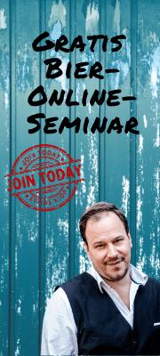 Gratis Bier- Online- Seminar